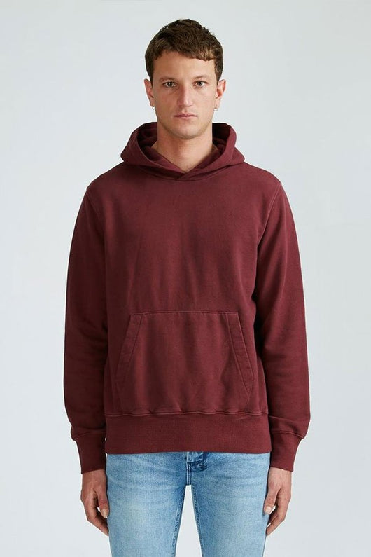 Ksubi Seeing Lines Hoodie - Noir Red - Rare Boutique LLC
