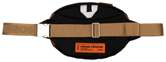 Heron Preston Brown Camouflage Padded Fanny Bag - Rare Boutique LLC