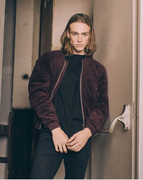 Kollar Velour Bomber / Red Wine - Rare Boutique LLC