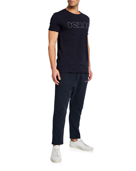 Ksubi Sign of the Times Track Pants - Navy