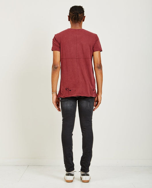 Ksubi Sioux SS Tee - Noir Red - Rare Boutique LLC