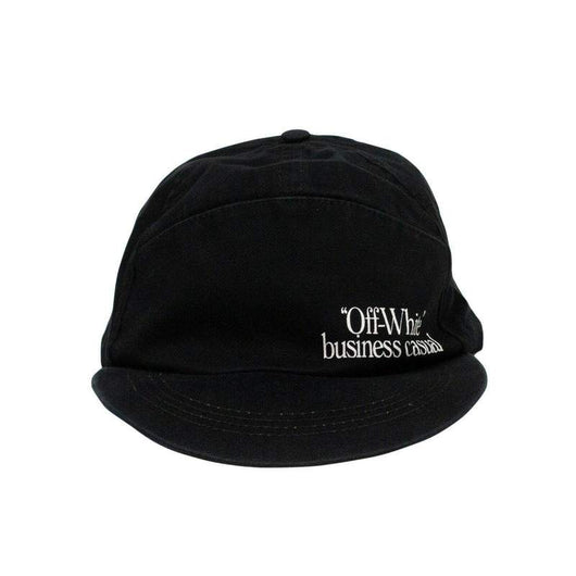 OFF-WHITE Black Business Casual Baseball Cap Hat - Rare Boutique LLC