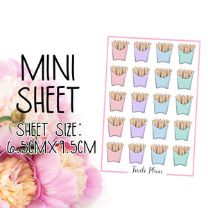 Mini sheet: Fries