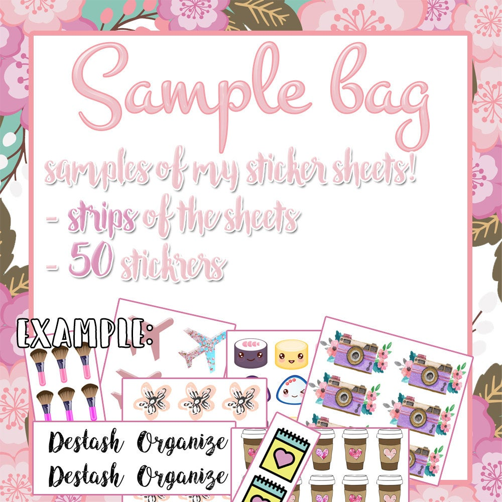 Sample bags || READ DETAILS