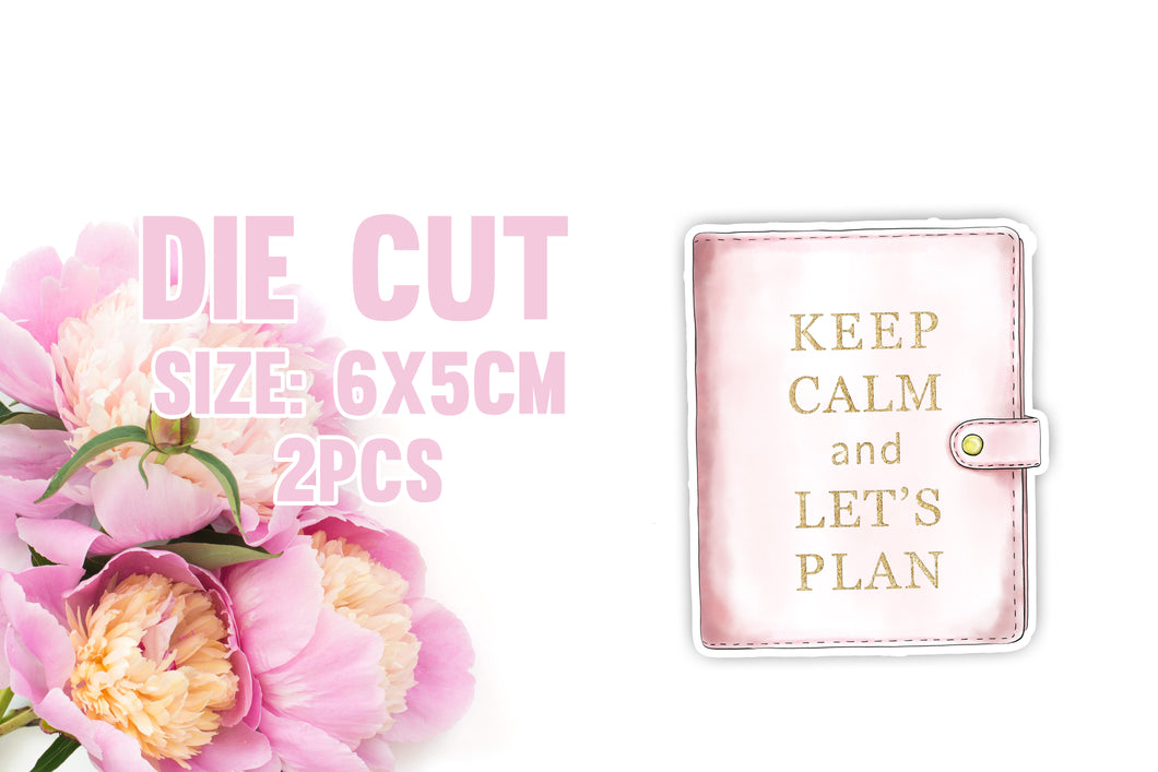 Planner quote - sticker die cut