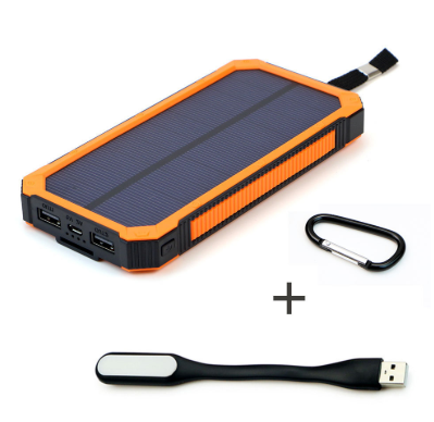 Solar Power Bank Wireless  Or USB Charging 15000mAh - cultuto