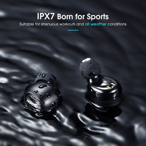 Wireless Earbuds With Mic Bluetooth 5.0 And Perfect For Gaming Or Outdoor Activity - cultuto