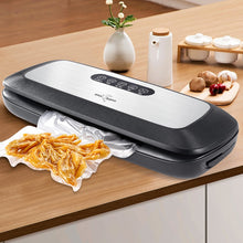 Load image into Gallery viewer, Food Vacuum Sealer A Stainless Steel Home Packing Machine - cultuto