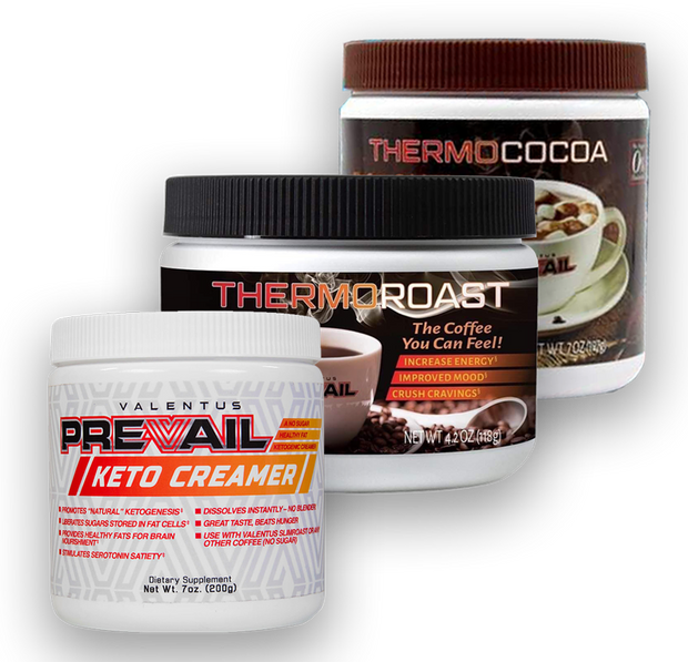 ThermoROAST Weight Loss Coffee, Cocoa & Creamer Trio