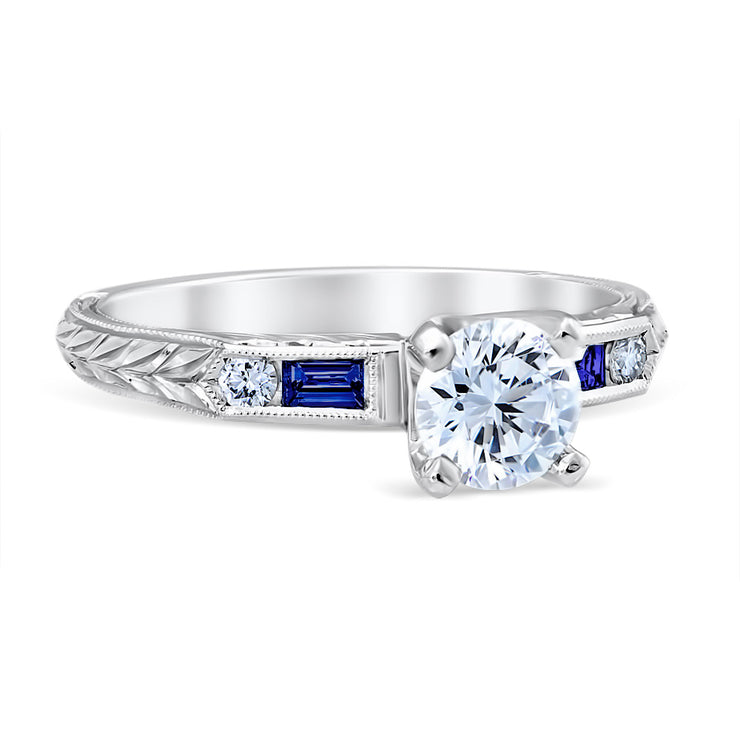 Lucia Sapphire Engagement Ring