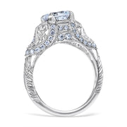 Fabiola Vintage Style Engagement Ring