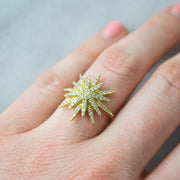 Lisa Nik North Star Ring