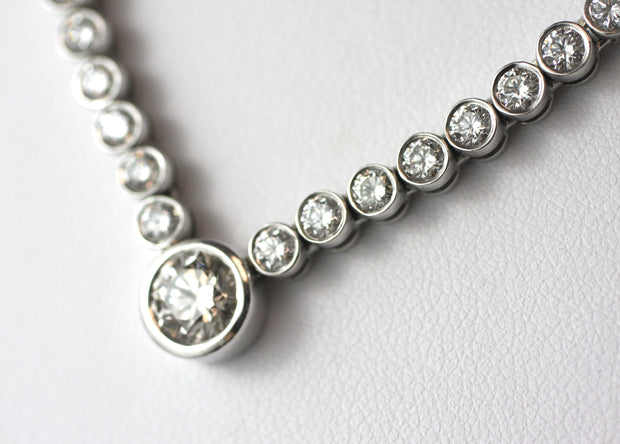 4 Carat Diamond Necklace