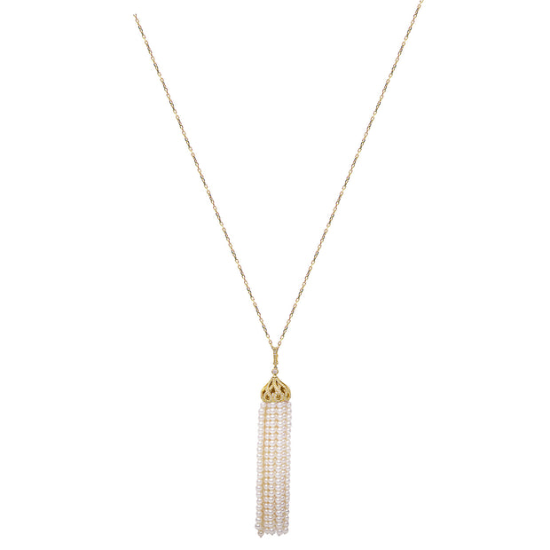 DSL Freshwater Pearl Tassel Necklace