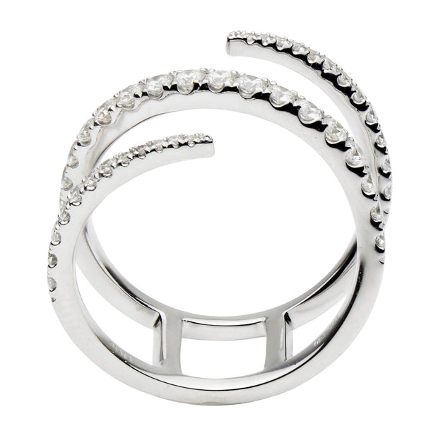 DSL Diamond Twist Ring
