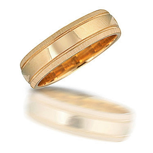 Men's Classic Yellow Gold Wedding Band