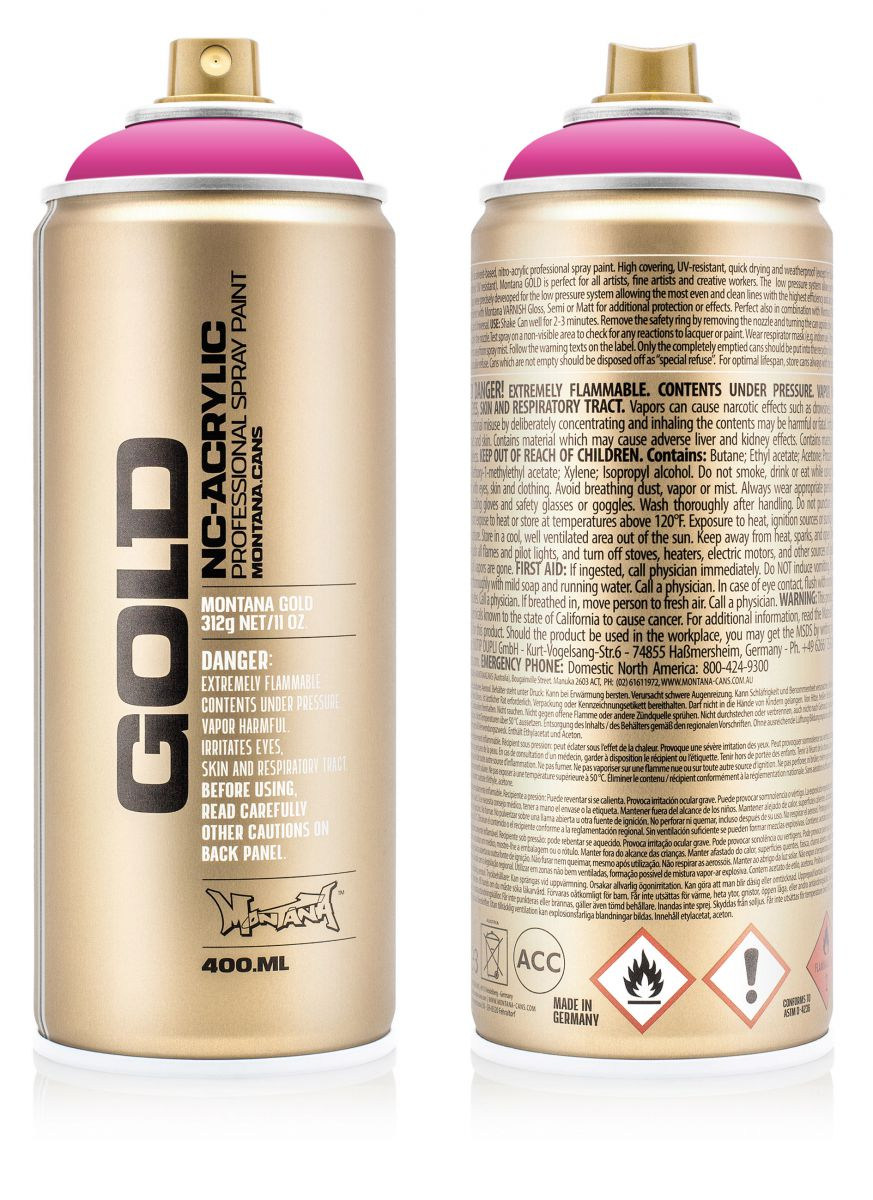 Montana Cans Gold 400ml