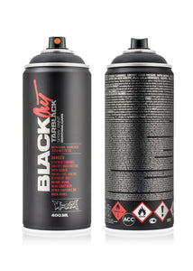 Montana Cans Black 400ml - Blackout