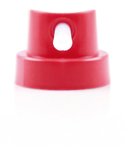 Montana Needle Cap (Red/Transparent)