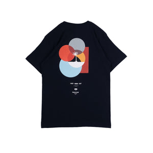 UNKL347 T-Shirt Beach Club Blublu Dark Navy
