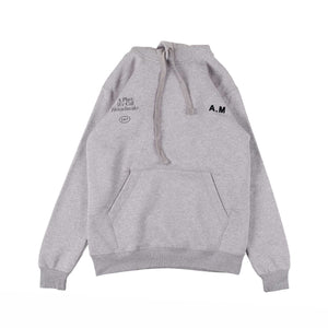 UNKL347 Pullover Hoodie Sweater Heavy Cotton A&M HOOD Misty