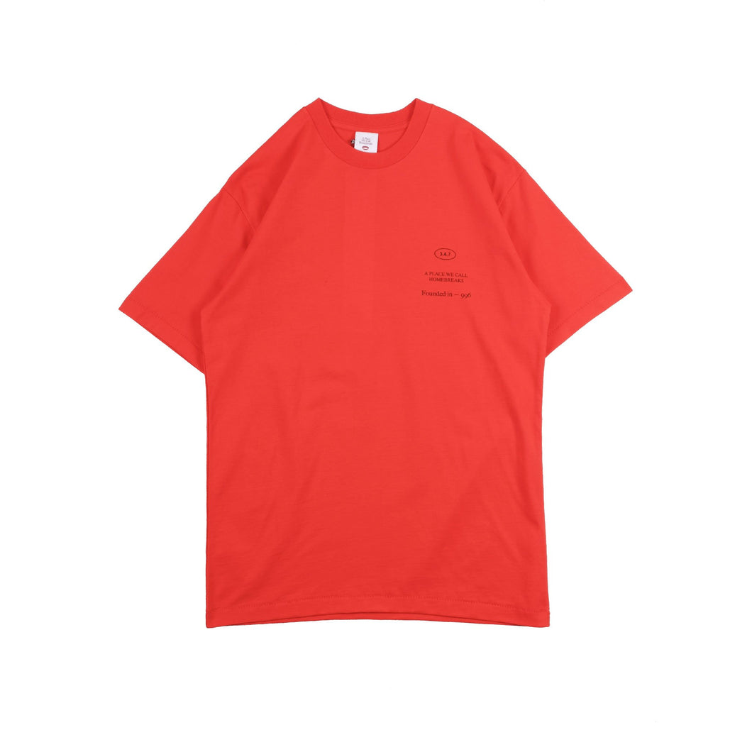 UNKL347 T-Shirt Heavy Cotton Smin Red