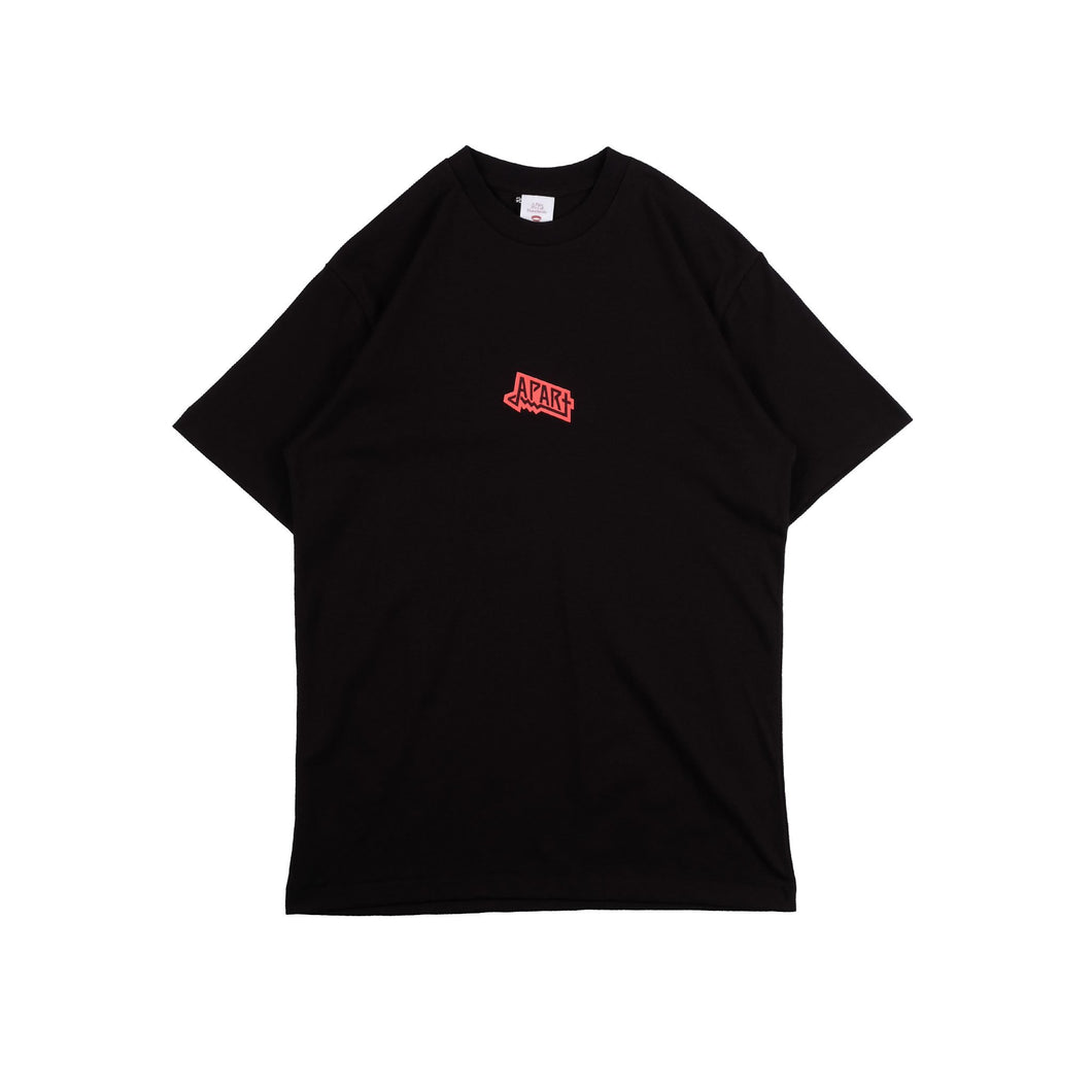 UNKL347 T-Shirt Heavy Cotton Marg Black