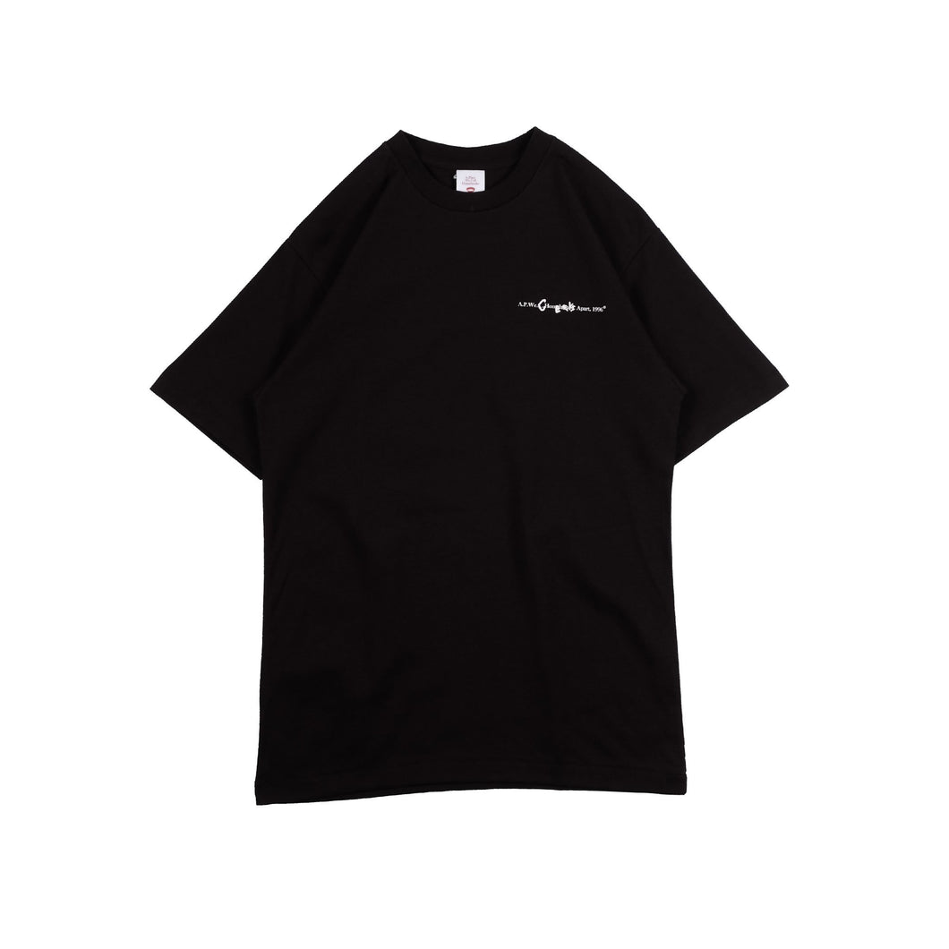 UNKL347 T-Shirt Heavy Cotton Grps Black