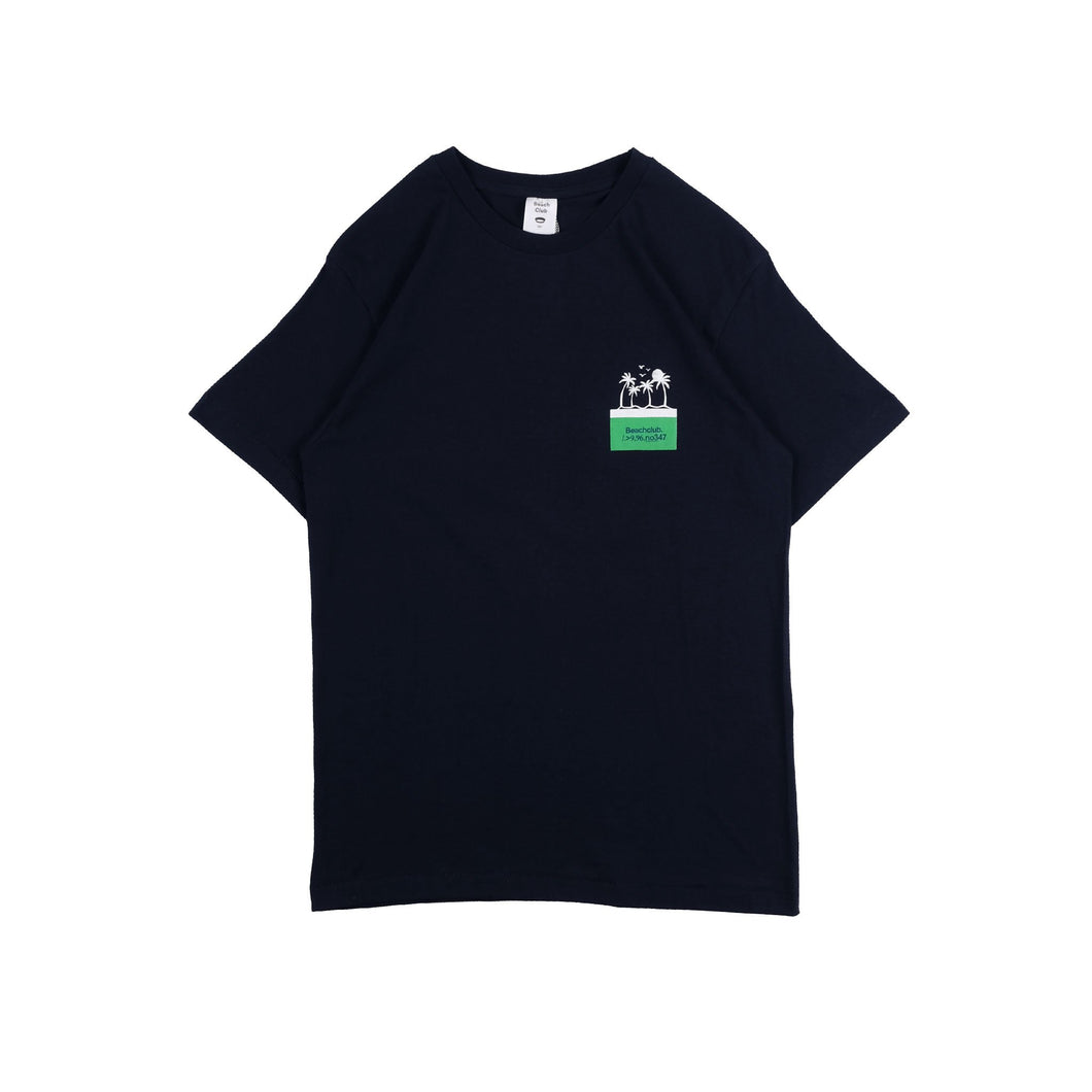 UNKL347 T-Shirt Beach Club Izland Dark Navy
