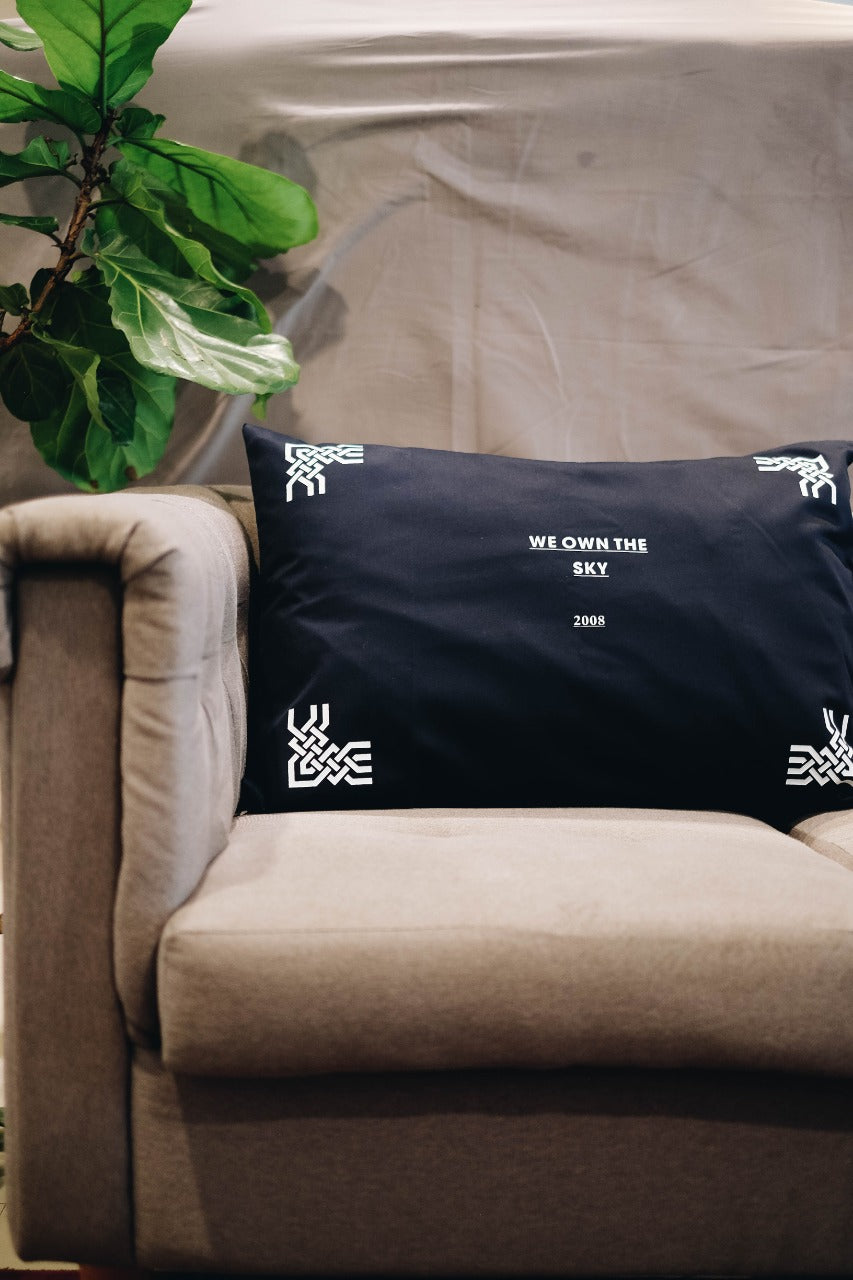 D.F.O We Own 65x48 Navy Blue Pillow Case