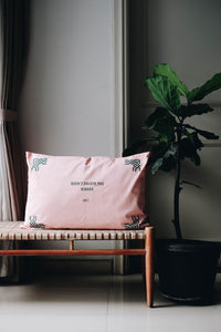 D.F.O Delete 65x48 Pink Pillow Case