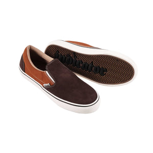 Indicator Slip On Brown Shoes