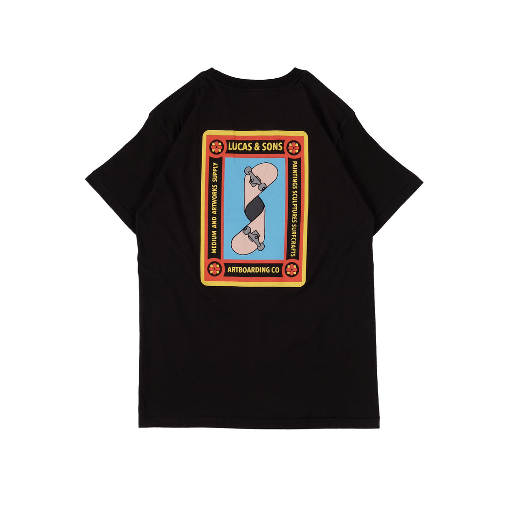 Lucas And Sons Artboarding Black T-Shirt