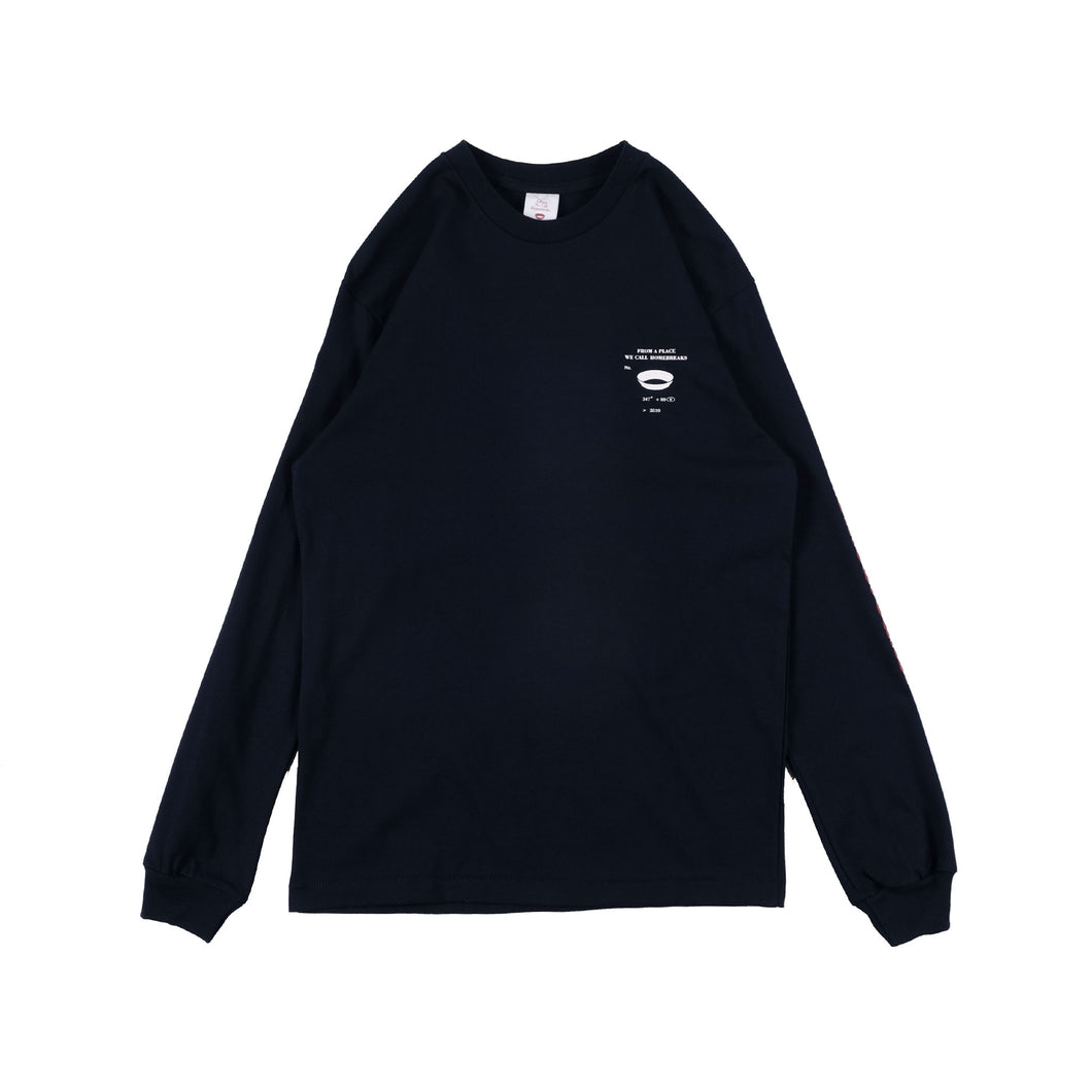 Unkl347 HC Nomo Long Sleeve Dark Navy T-Shirt