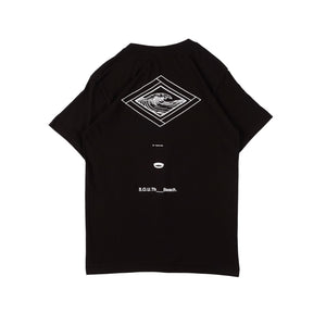 Unkl347 Beach Club The South Black T-Shirt