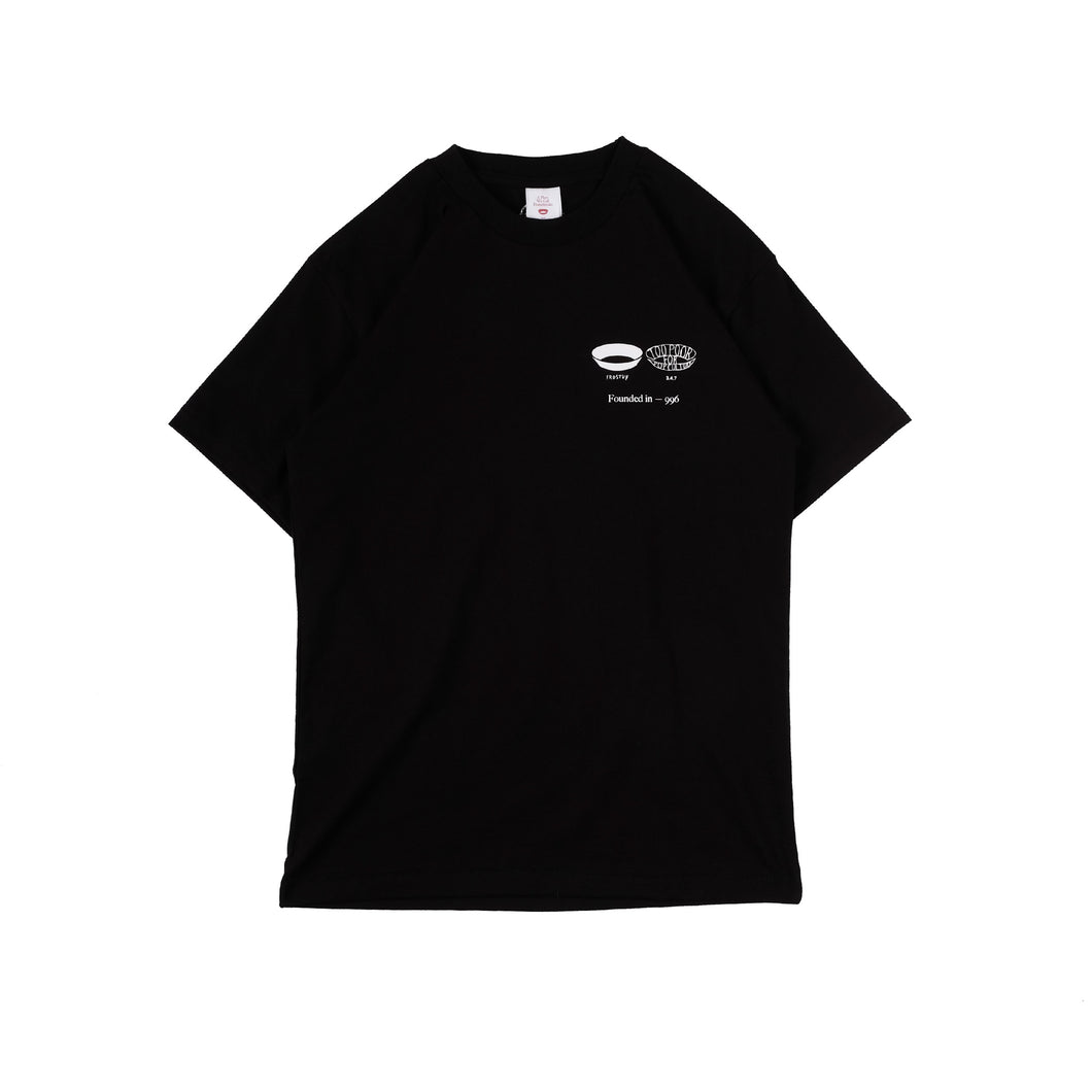 Unkl347 At Studio: 347 x Farid Stevy Black T-shirt