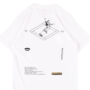 UNKL347 T-Shirt Beach Club Grind White