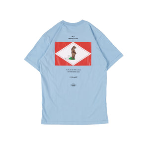 Unkl347 Beach Club Hangbe Baby Blue T-shirt