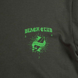 UNKL347 T-Shirt Beach Club Sout Army Green