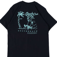 Load image into Gallery viewer, Unkl347 Beach Club Soute Navy T-shirt