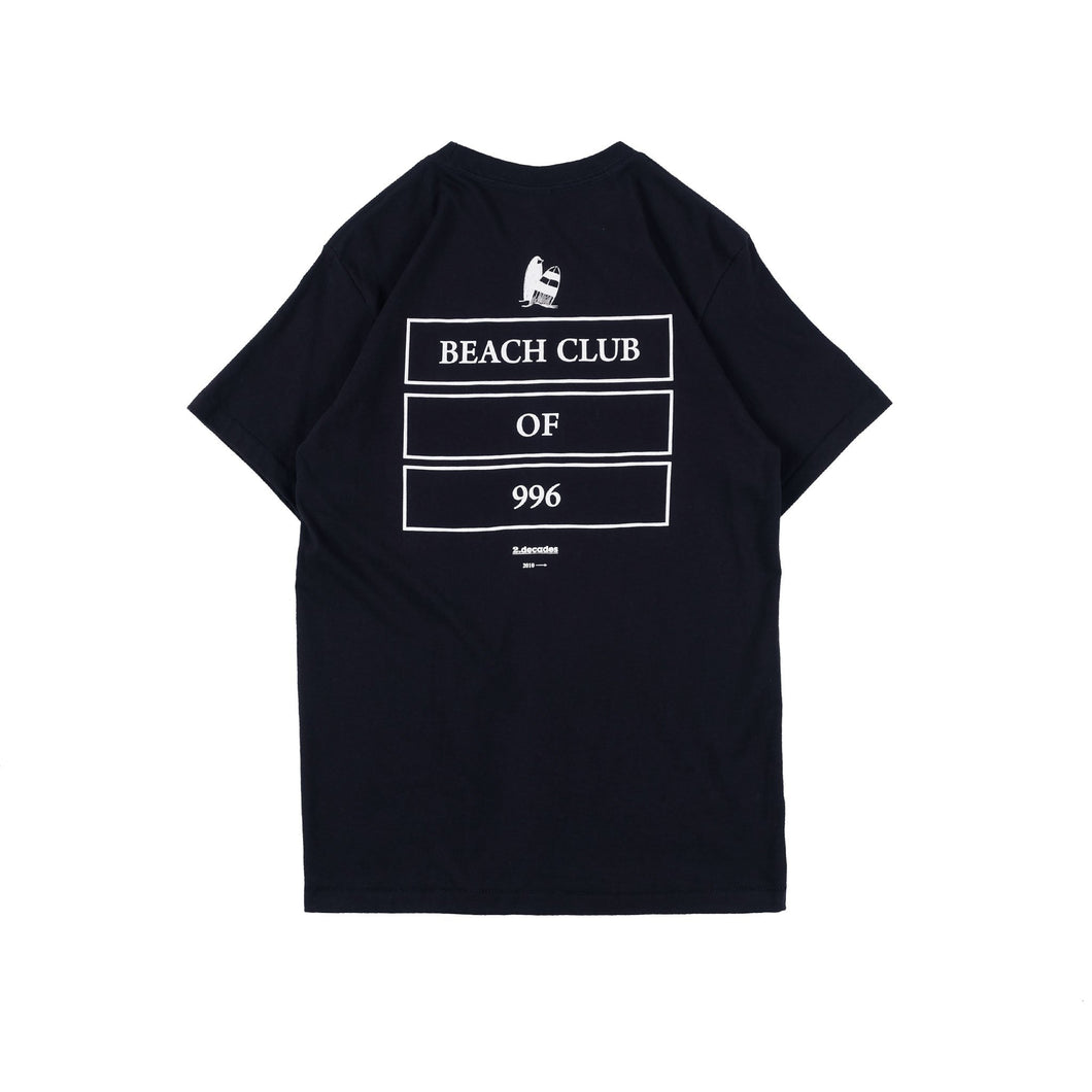 UNKL347 T-Shirt Beach Club Sukho Dark Navy