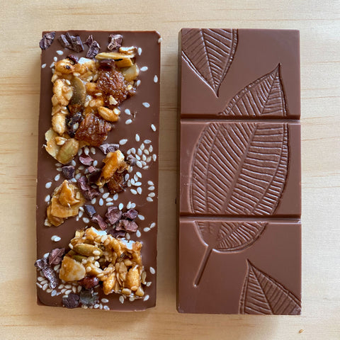 Chocolate Granola Block