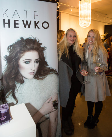 Fashion Designer Kate Hewko Launch Party