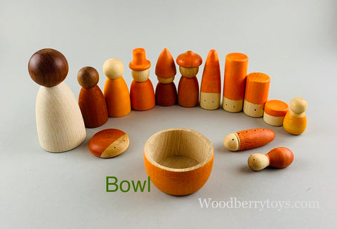 Grapat bowls with nins tomten wizards lola