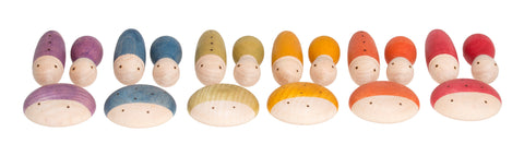 Grapat insects bugs wooden toy gnomes