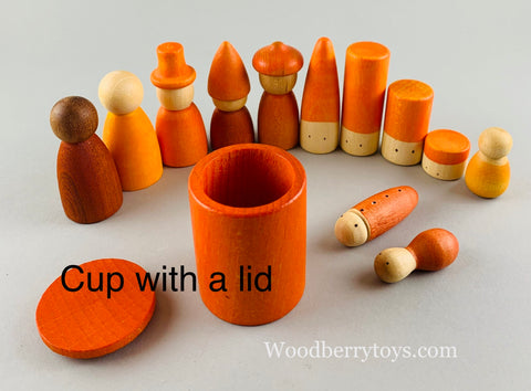 Grapat cups with lids nins lola sticks