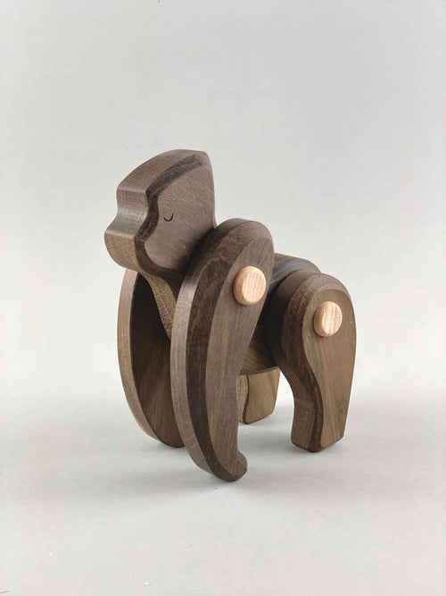 Woodberry Bajo Endangered Species Wooden Toy Gorilla