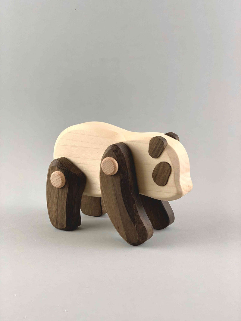 Woodberry Bajo Endangered Species Wooden Toy Panda