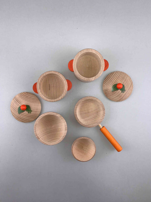 Natural Wooden Cooking Set