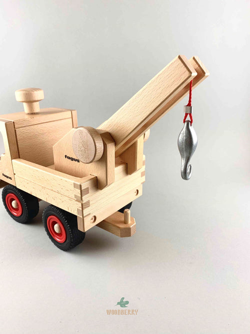 Wooden Crane Extension Attachment